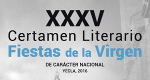 certamen literario fiestas virgen
