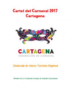 concurso cartel carnaval cartagena