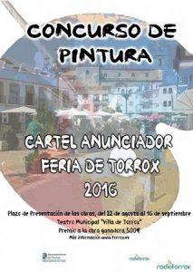 concurso pintura cartel feria torrox