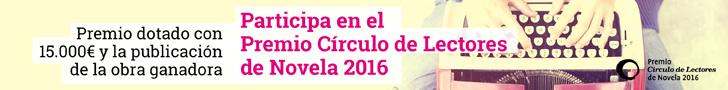 premio circulo lectores novela 2016