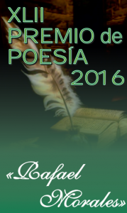 premio poesia Rafael Morales